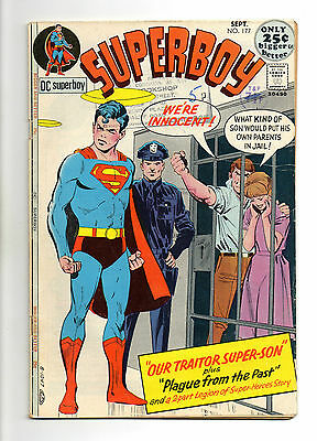 Superboy  Vol 1 No 177 Sep 1971 (VG+) DC Comics, Bronze Age (1970 - 1979)