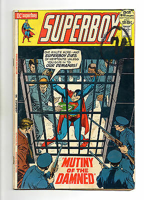 Superboy  Vol 1 No 186 May 1972 (VG-) DC Comics, Bronze Age (1970 - 1979)