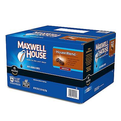 Maxwell House - House Blend Coffee K Cups 84 ct Single Serve Packs for Keurig