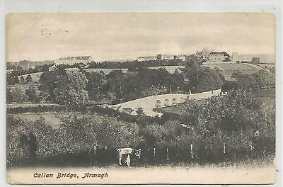 northern ireland postcard ulster irish armagh callan bridge