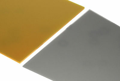 Gold & Silver Metallic Acrylic Perspex Sheet Plastic Gloss Metal Colours New