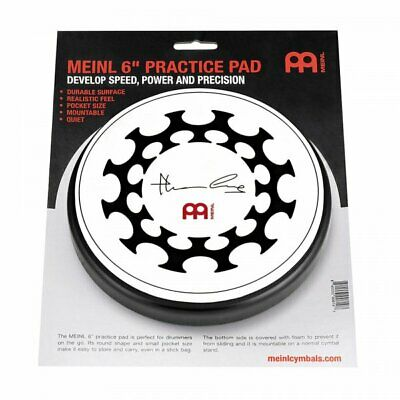 "Meinl MPP-6-TL Thomas Lang 6"" Drumming Drum Stick Practice Pad Accessory"