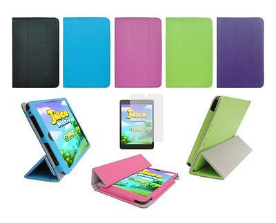 "Folio Cover Case and Screen Protector for Double Power Dopo 7.85"" DP7856K Tablet"