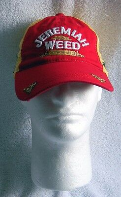 New Jeremiah Weed Southern Style Baseball Hat Mesh Trucker Snapback #17 Racing