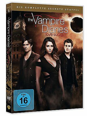 The Vampire Diaries Season 6 Die Komplette Dvd Staffel 6 Deutsch