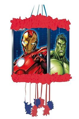 Marvel Avengers Hulk Pull String Pinata & Blindfold Fun Party Game Toy 395-810