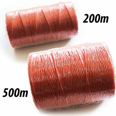 Electric Fence Fencing Poly Wire - HIGH QUALITY - 200m Or 500m Length