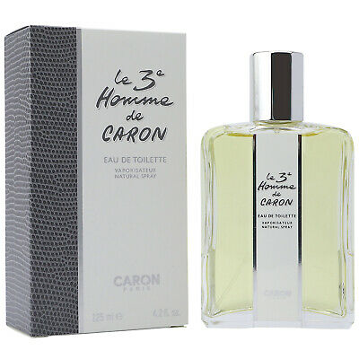 Caron Le 3e Homme Men 125 ml EDT Eau de Toilette Spray