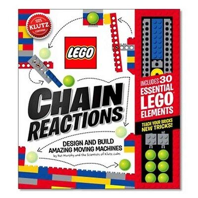 Lego Chain Reactions 9780545703307 by Pat Murphy, BRAND NEW FREE P&H