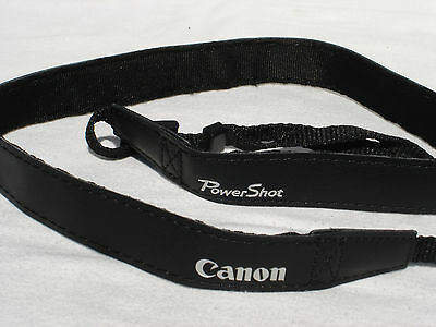 CANON PowerShot CAMERA NECK STRAP  Black Model    Power Shot #00808