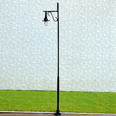 8 pcs O scale Raplaceable Model Lamppost street light Lamp easy Maintain #RB34-O