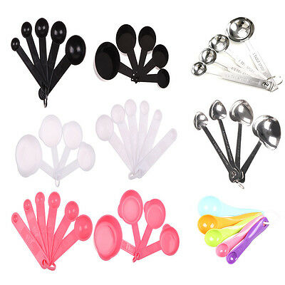 7 kinds steel Plastic Kitchen tools Measuring Spoons Spoon Cup Baking Utensil