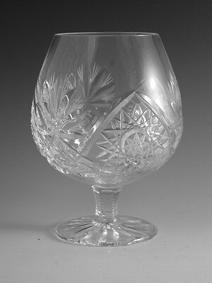"EDINBURGH Crystal - ROYAL Cut - Brandy Glass / Glasses - 5"" (2nd)"