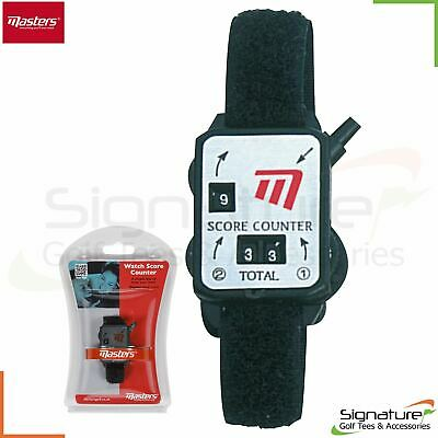 Masters Wrist Watch Golf Score Count Swing Counter
