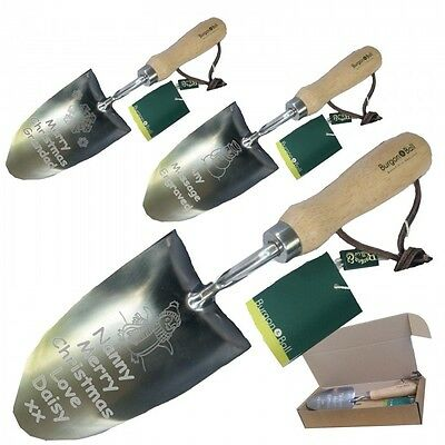 Engraved Garden Trowel Nanny Mum Gran Auntie Christmas Gift 077