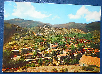 Cyprus Troodos Mountain And Kakopetria Triarchos Post Card Not Used