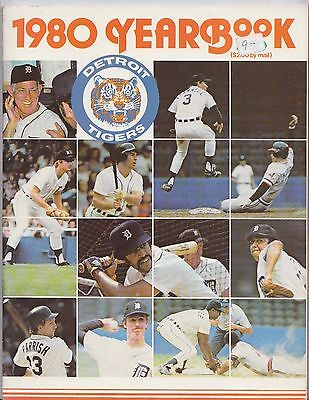 1980 Official Detroit Tigers Yearbook