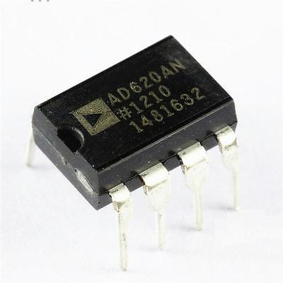 5 PCS Instrumentation Amplifier IC ANALOG DEVICES DIP-8 AD620AN AD620ANZ