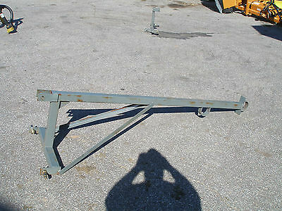 3 Point Hitch Boom Pole Gray