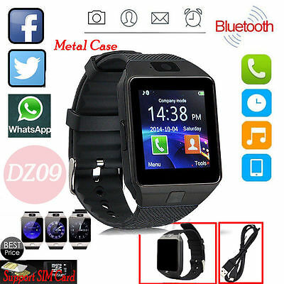 DZ09 Intelligente Polso Orologio Wrist Smart Watch Bluetooth SIM Per IOS Android