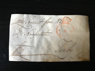 Beaumont Hotham - Distinguished Soldier - Battle Of Waterloo - Signed Envelope