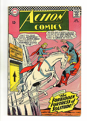 Action Comics Vol 1 No 336 Apr 1966 (VFN-) DC Comics, Silver Age (1956 - 1969)