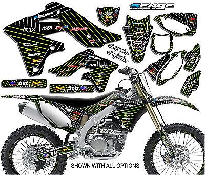 2010-2018 KAWASAKI KLX 110 GRAPHICS DECALS 2017 2016 2015 2014 2013 2012 TG2