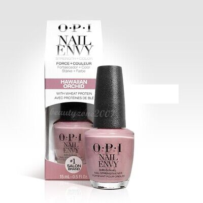 OPI Nail Polish Nail Envy Treatment + Color NT220 Hawaiian Orchid 0.46oz