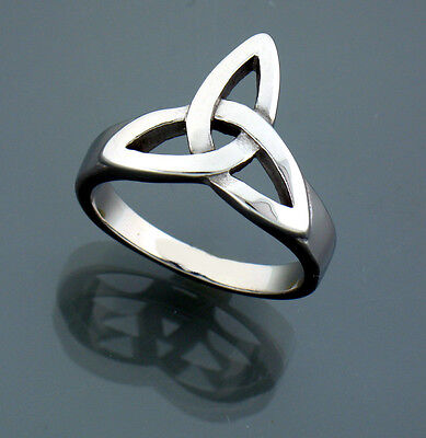 Stainless Steel Trinity Knot Ring