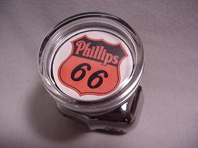 Phillips 66 Steering Wheel Suicide Spinner Brodie Knob Hot Rod Classic