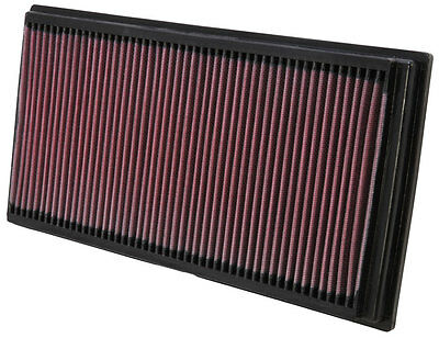 K&N Air Filter Element 33-2128 (Performance Replacement Panel Air Filter)