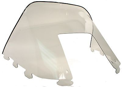 """Polaris Indy Trail 488, 1990-1994, 12"""" Smoke Windshield - Deluxe, Touring"""