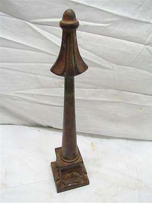 Antique Brass/Bronze Tall Fence Post Finial Topper Ornate Victorian Top Spike A