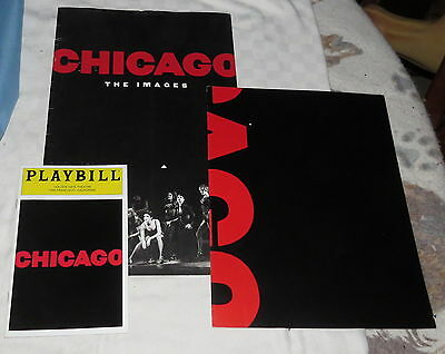 Souvenir Program Chicago The Images - including Playbill and Poster