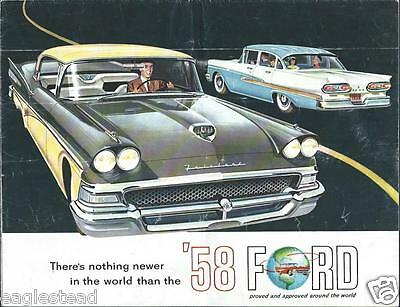 Auto Brochure - Ford - Product Line Overview - 1958 (AB640)