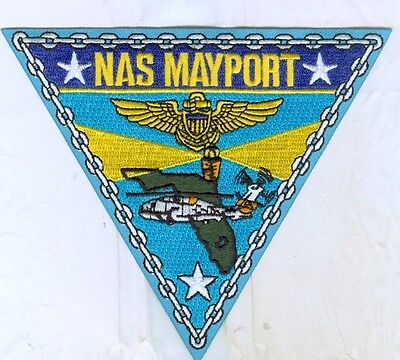 Us Navy Patch - Naval Air Station Mayport