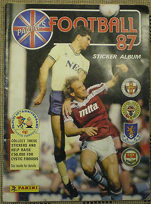 PANINI'S FOOTBALL 87 STICKER ALBUM = 520 stickers inside. by PANINI S.P.A. ITALY