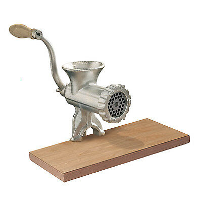 Heavy Duty Cast Iron Hand Operated Manual Beef Sausage Maker Meat Mincer Grinder