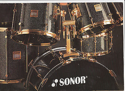 Vintage Musical Instrument Catalog #10515 -  Sonor Drums - Hilite Exclusive