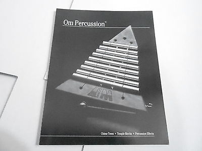 Vintage Musical Instrument Catalog #10316 - Om Percussion - Chime Trees