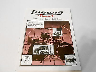 Vintage Musical Instrument Catalog #10112 - 1992 Snare & Outfits - Ludwig Drums
