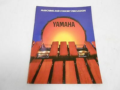 VINTAGE MUSICAL INSTRUMENT CATALOG #10047 - (1980s) YAMAHA MARCHING DRUMS