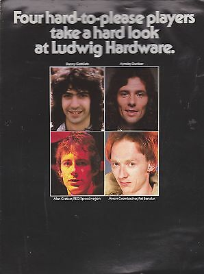 #misc-0299 - Musical Instrument Catalog - Ludwig Drums Hardware