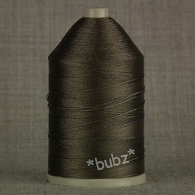 BONDED NYLON THREAD 40s 650metre GREY 40 TKT LEATHER REPAIRS UPHOLSTERY STRONG