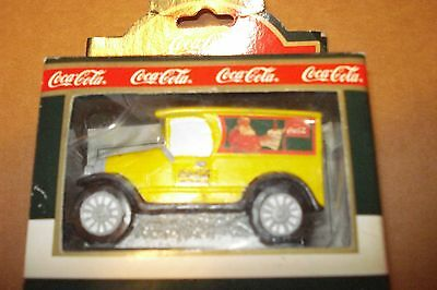 Coca-Cola 1992 Town Square Advertising Car, New Mib