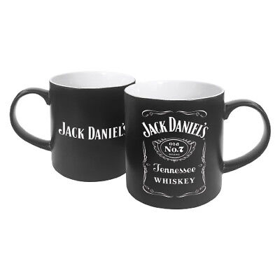Jack Daniels Full Black Label Glass Stein Great Fathers Day Man Cave Bar Gift