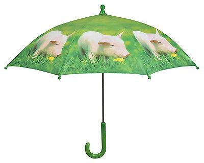 Fallen Fruits Children's Farm Animals Umbrella  - Pig