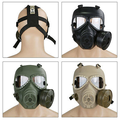 M04 Wargame Airsoft Dummy Gas Mask Cosplay Protection Gear Live CS Paintball