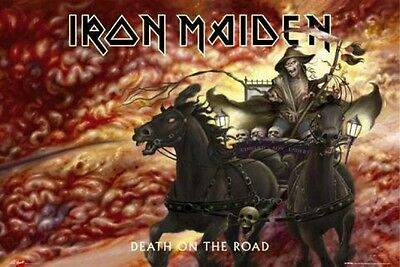 Iron Maiden - Death On The Road Poster Plakat (91x61cm) #32231