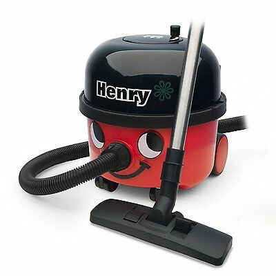 Numatic HVR200 A2 580W 9L Bagged Cylinder Henry Vacuum Cleaner Hoover & A1 Kit